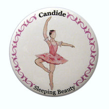 Load image into Gallery viewer, Candide (Fairy of Purity) Button/Magnet/Mirror - Ballet Gift Shop
