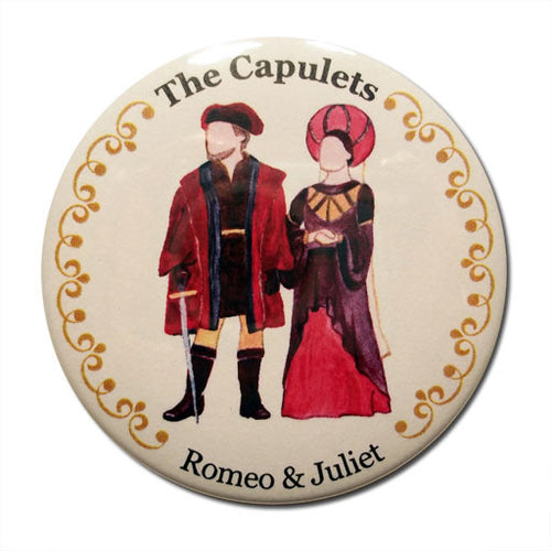 The Capulets Button/Magnet/Mirror - Ballet Gift Shop