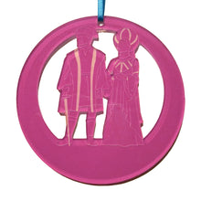 Load image into Gallery viewer, The Capulets Laser-Etched Ornament