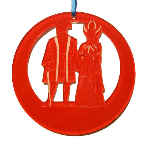 The Capulets Laser-Etched Ornament - Ballet Gift Shop
