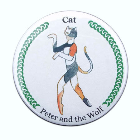 Cat Button / Magnet