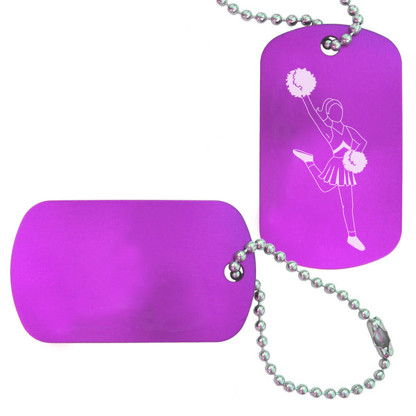 Cheerleading Bag Tag (Choose from 3 designs) - Ballet Gift Shop