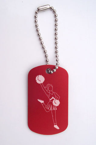 Lead Cheerleader Bag Tag