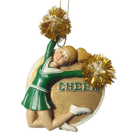 Spirited Cheerleader Ornament
