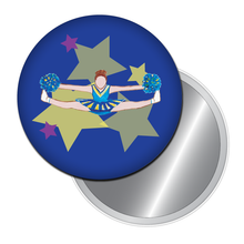 Load image into Gallery viewer, Toe Touch Cheerleader Button/Magnet/Mirror