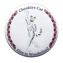 Load image into Gallery viewer, Cheshire Cat Button/Magnet/Mirror - Ballet Gift Shop