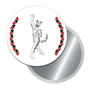 Cheshire Cat Button/Magnet/Mirror