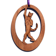 Load image into Gallery viewer, Cheshire Cat Laser-Etched Ornament - Ballet Gift Shop
