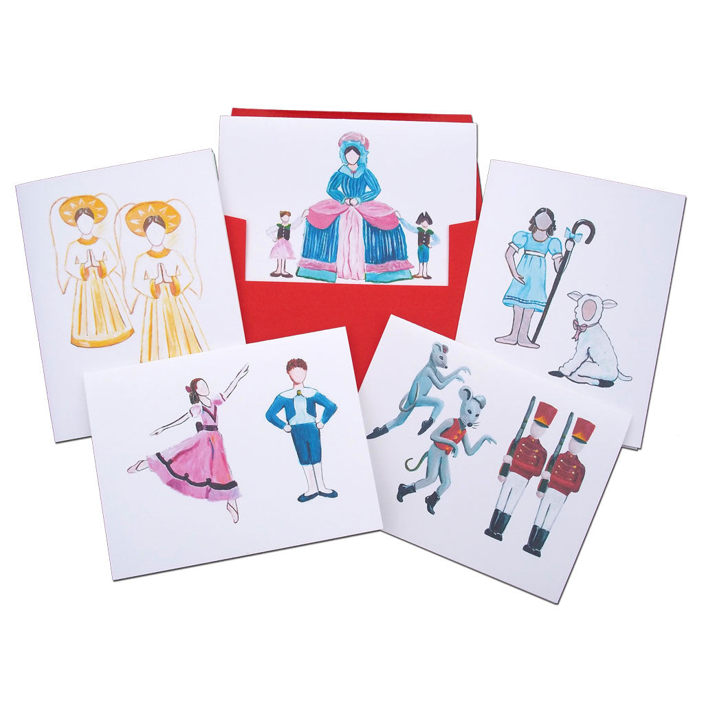 Children's Roles Assorted Note Card Set