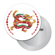 Load image into Gallery viewer, Chinese Dragon Button/Magnet/Mirror