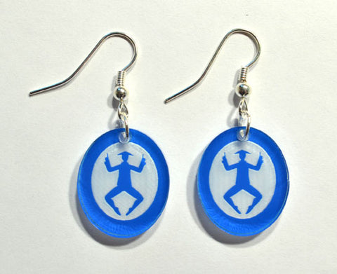 Chinese Tea Silhouette Earrings - Ballet Gift Shop