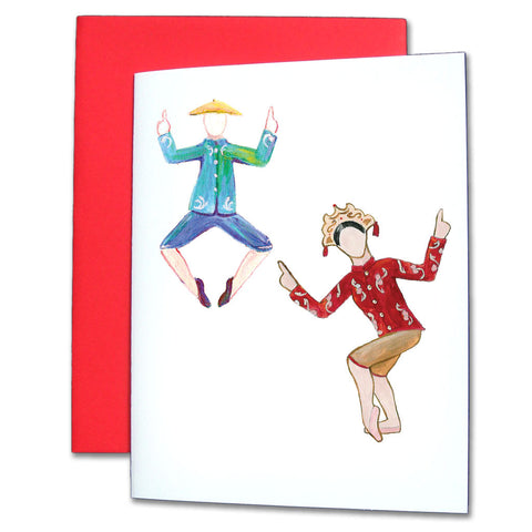 Chinese Tea Note Cards - Ballet Gift Shop