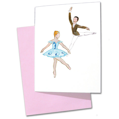 Cinderella & Her Prince Note Cards