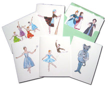 Load image into Gallery viewer, Cinderella Assorted Note Card Set - Ballet Gift Shop
