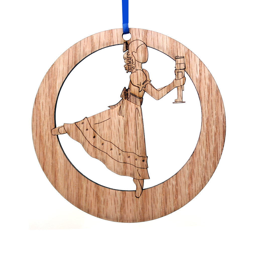 Clara / Marie Laser-Etched Ornament