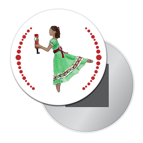 Clara / Marie (African-American) Button / Magnet