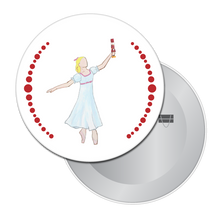 Load image into Gallery viewer, Dream Clara Button / Magnet