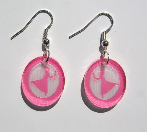 Clara Silhouette Earrings - Ballet Gift Shop