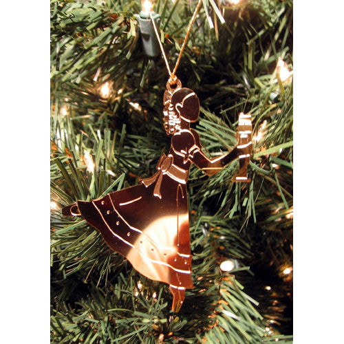 Clara / Marie Gold-Plated Ornament - Ballet Gift Shop
