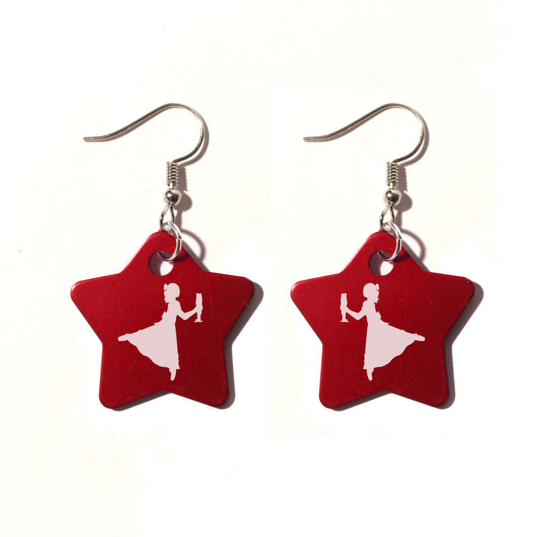 Clara / Marie Metal Earrings