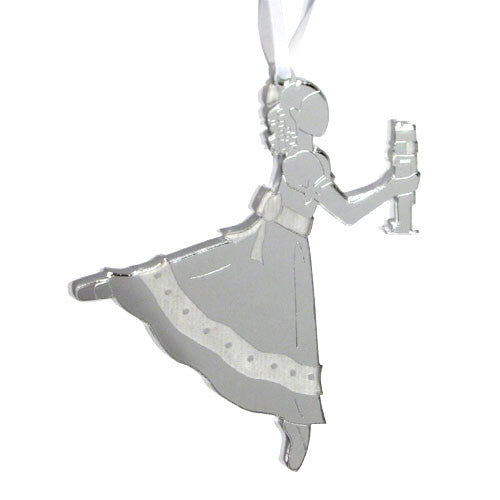 Clara / Marie Mirrored Ornament - Ballet Gift Shop