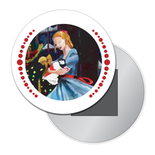 Load image into Gallery viewer, Clara and Her Nutcracker Button/Magnet/Mirror