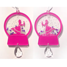 Load image into Gallery viewer, Clara / Marie Snow Globe Ornament