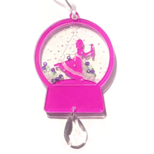 Clara / Marie Snow Globe Ornament