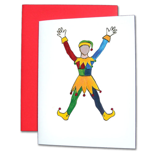 Polichinelle Clown Note Cards - Ballet Gift Shop