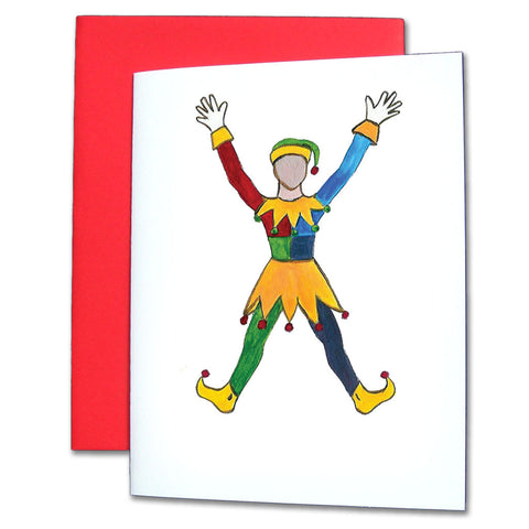 Polichinelle Clown Note Cards