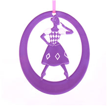 Load image into Gallery viewer, Columbine Doll Laser-Etched Ornament - Ballet Gift Shop