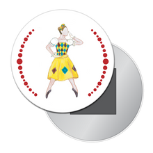 Load image into Gallery viewer, Columbine Doll Button/Magnet/Mirror