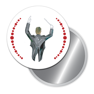 Orchestra Conductor Button/Magnet/Mirror