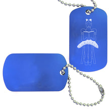 Load image into Gallery viewer, Coppelia Dance Bag Tag (Choose from 3 designs) - Ballet Gift Shop