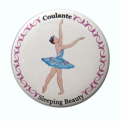 Coulante (Fairy of Vitality) Button / Magnet - Ballet Gift Shop