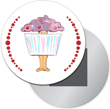 Load image into Gallery viewer, Cupcake Dancer Button/Magnet/Mirror