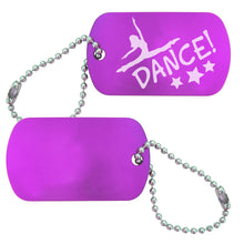 Load image into Gallery viewer, Jazz Dance Bag Tag (Choose from 2 designs) - Ballet Gift Shop