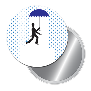 Dancing in the Rain Travel Mirror (Choose from 3 Dance Styles) - Ballet Gift Shop