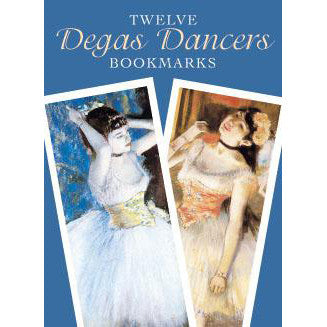 12 Degas Ballet Dancer Bookmarks - Ballet Gift Shop