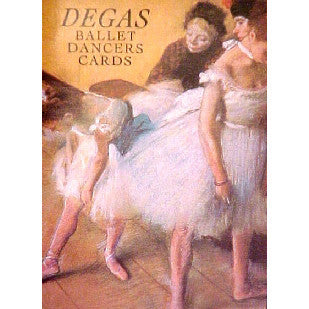 6 Degas Ballet Dancer Postcards Book - Ballet Gift Shop