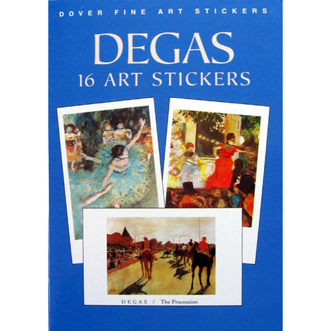16 Degas Art Stickers - Ballet Gift Shop