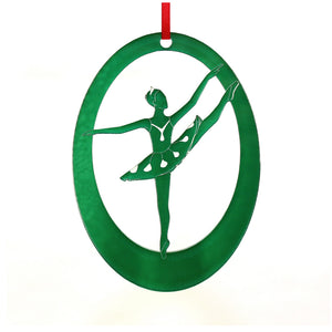 Dew Drop Fairy Laser-Etched Ornament - Ballet Gift Shop