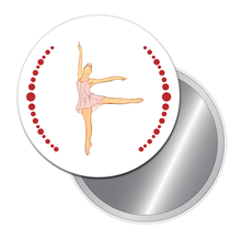 Load image into Gallery viewer, Dew Drop Fairy (Short Skirt) Button/Magnet/Mirror