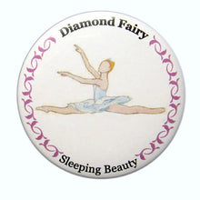 Load image into Gallery viewer, Diamond Fairy Button/Magnet/Mirror - Ballet Gift Shop