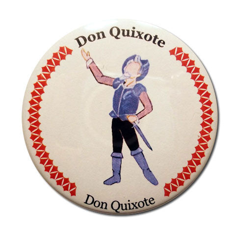 Don Quixote Button / Magnet - Ballet Gift Shop