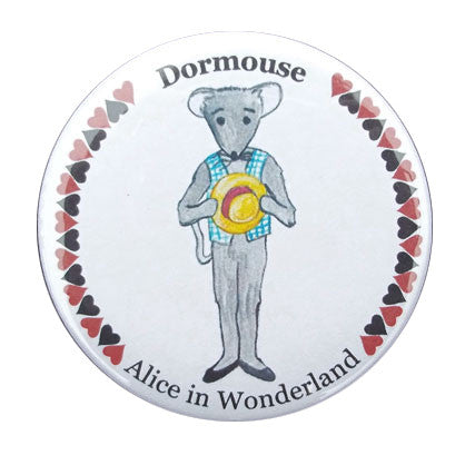 Dormouse Button / Magnet - Ballet Gift Shop