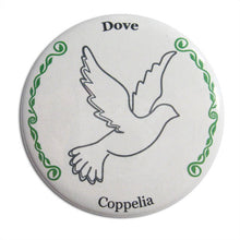 Load image into Gallery viewer, Wedding Dove Button/Magnet/Mirror - Ballet Gift Shop