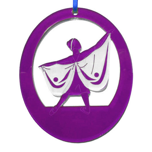 Dragonfly Laser-Etched Ornament - Ballet Gift Shop