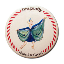 Load image into Gallery viewer, Dragonfly Button / Magnet - Ballet Gift Shop