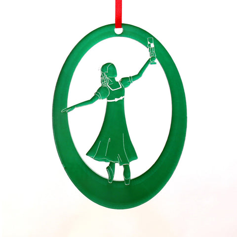 Dream Clara Laser-Etched Ornament - Ballet Gift Shop